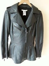 Ladies Leather Designer Jacket