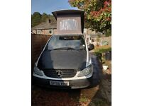 Mercedes-Benz, VITO, Campervan with Riemo poptop. Non runner.