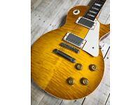 Gibson Les Paul Custom Shop 1959 Reissue VOS R9 Lemon Burst 2012
