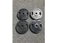 90KG OLYMPIC METAL WEIGHT PLATES