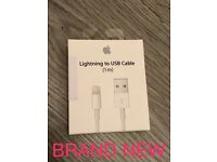 Apple Lightening USB Cable - Brand New - Sealed Box - £20