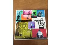 Banksy Canvas Limited Edition