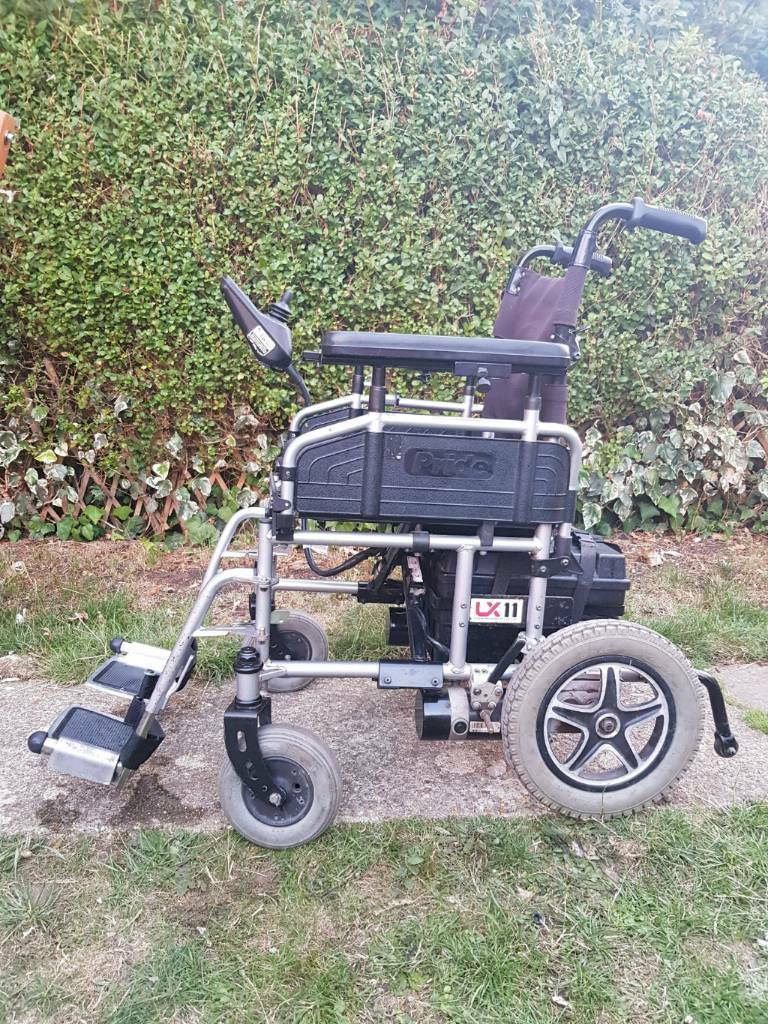 Magnificent Pride Lx 11 Electric Wheelchair Powerchair Power Chair Foldable For Transport In Southampton Hampshire Gumtree Spiritservingveterans Wood Chair Design Ideas Spiritservingveteransorg