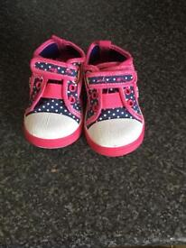 Little girls first trainers