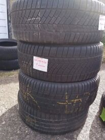 4 x 225 55 r 16 continental contiwintercontact
