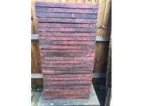 Patio Slabs - Red / Pink x 26
