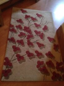 Thick pile rug excellent condition. Smoke free home