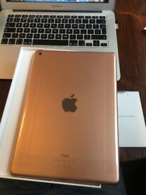 iPad 32GB / 6th Generation / Wi-Fi / Rose Gold / BRAND NEW in box