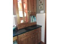 Kitchen units sink unit with taps dish washer