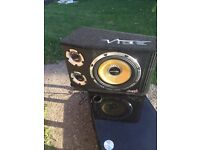 Vibe black air sub amp 1600 watts