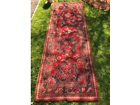 Carpet runner 2700mm x 900mm early 20th cent nice condition