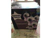 4 Anti Colic Tommee Tippee Bottles