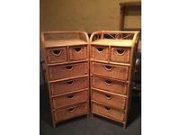 Bedside tables / chest of drawers
