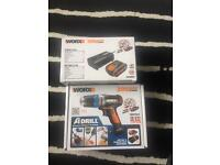 Worx 20v max lithium with battery and charger