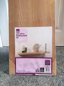 B&Q floating shelf (width 1300mm)