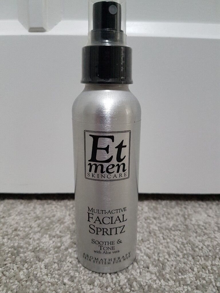 Brand new Eve Taylor mens facial spritz