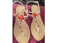 Beautiful new Carvela kurt Geiger sandals size 8