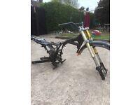 Large framed pitbike for spares