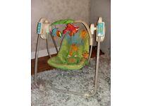 Fisherprice fab musical swing chair