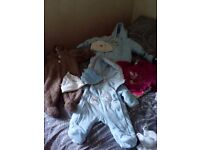 Baby boy winter suits 0-3 months