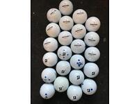 23 Bridgestone Golf balls