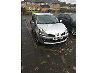 Renault CLIO 07, cat C damaged!