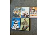 Collection of 8 Various Comedy DVD's