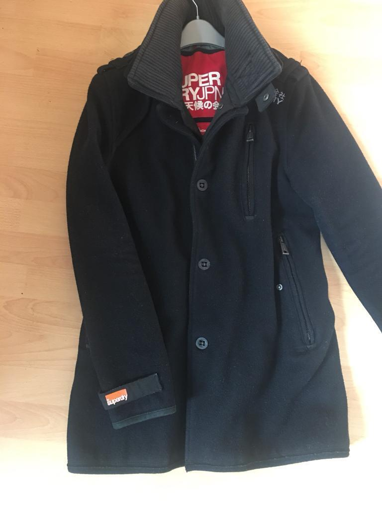 c74155400c4d Superdry double black label trench coat | in Tingley, West Yorkshire ...
