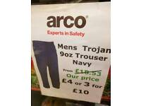 arco work trousers
