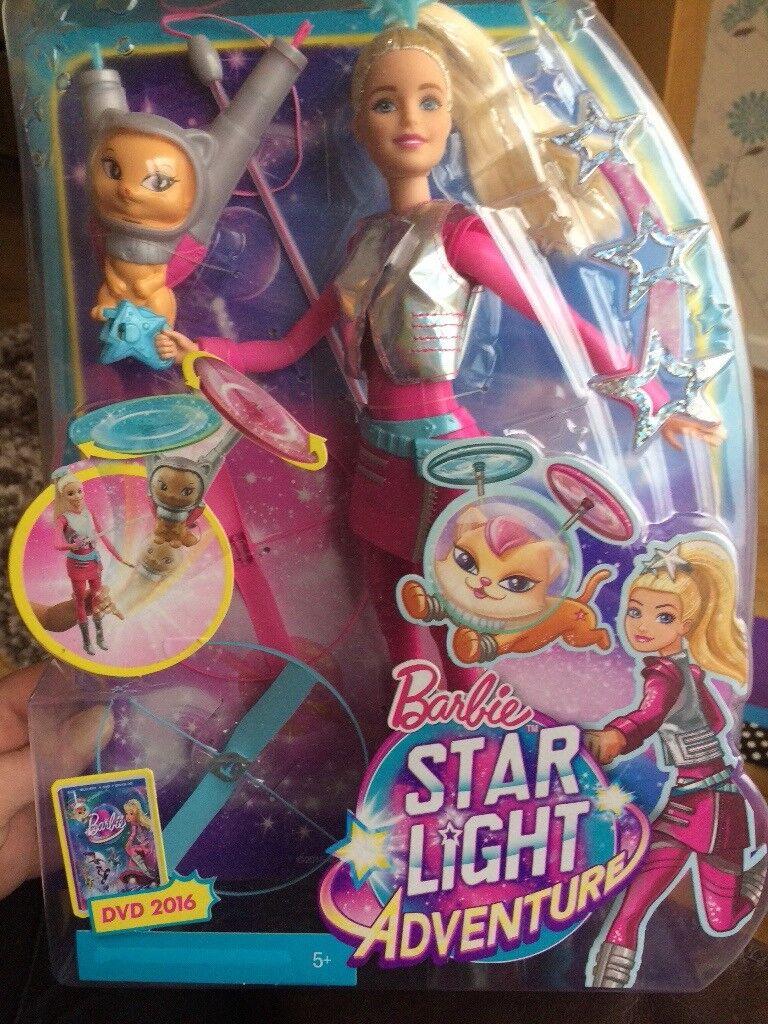 Barbie starlight adventure doll