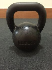 Eleiko kettlebells - set includes: 1x24kg, 2x20kg, 2x16kg, 2x12kg, 1x8kg. With stand.