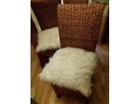 DINING CHAIRS RATTAN