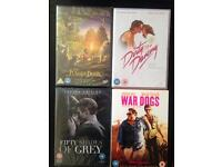 4 brand new dvds (unopened)
