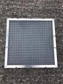 2 commercial extractor fan filters