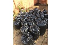 Free Top Soil - bagged and ready to go.