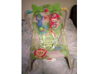 Baby fisher price bouncer