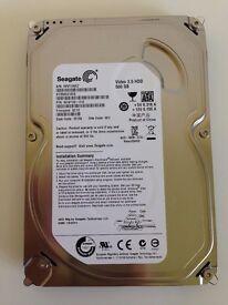 "Seagate Video 3.5 Pipeline HDD 500GB, Internal, 5900 RPM, (3.5"") (ST3500312CS)"