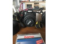 Nikon D3100 and accessories