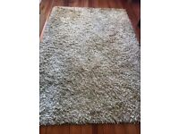 Laura Ashley Gold Wool Mix Rug 180x120cm- Excellent Condition
