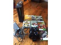 Xbox 360 console, games and controllers