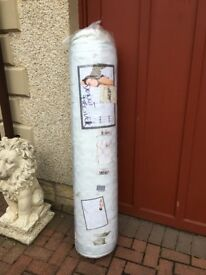 ROLLED DOUBLE MATTRESS 140X190 BRAND NEW