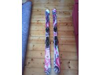 Salomon freestyle skis 161 woman's