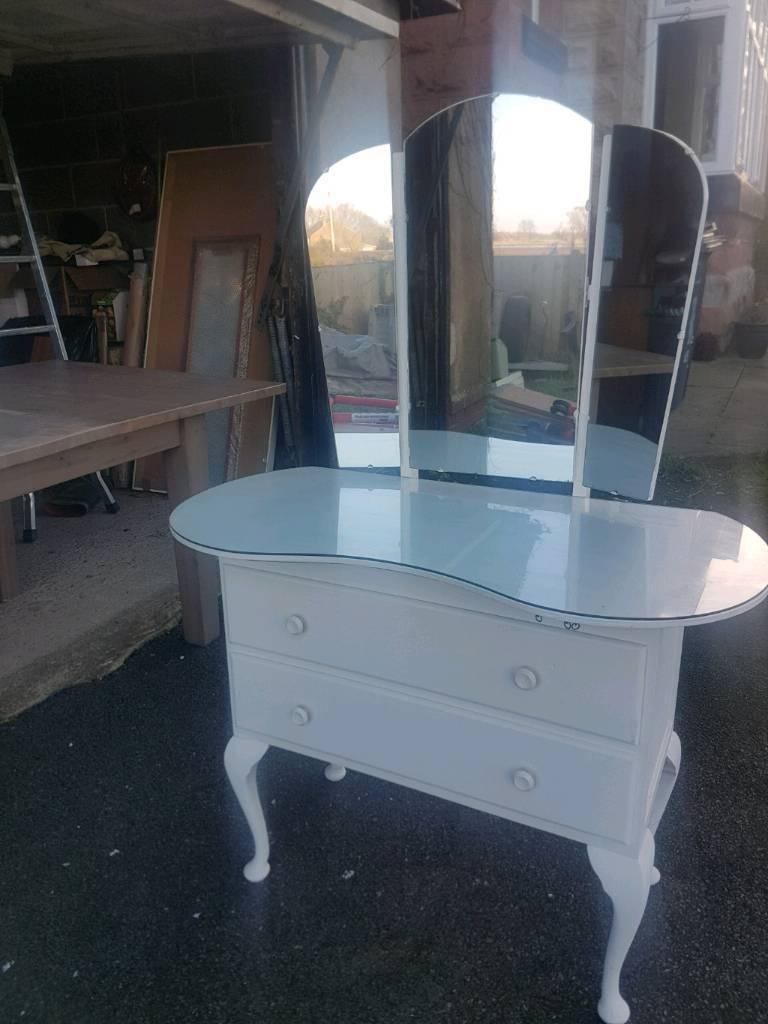vanity unit with glass top | in Liverpool, Merseyside | Gumtree