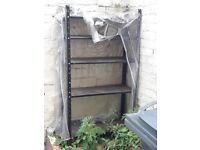 Outdoor shelving unit £1