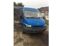 Transit van for parts or repair