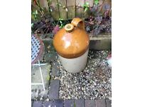 Large stone cider jar