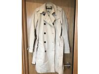 Burberry trench coat size 4