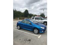 Peugeot 206 Allure coupe petrol excellent condition few minor marks on side of door