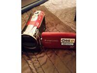 Panasonic SDRS70 video camera with box