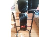 Power Pro Bench + Barbell (without spinlocks) = £ 25 in East London E7